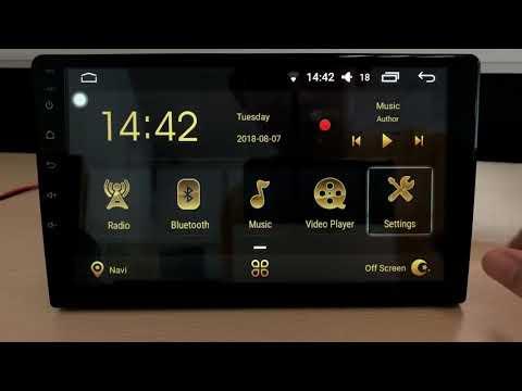 "10.2"" IPS ANDROID 8.0 4GB+32GB CARPLAY RADIO GPS VW PASSAT B8"