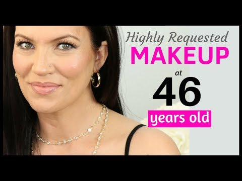 MAKEUP TUTORIAL for CREPEY, SAGGY & HOODED EYES - MATURE SKIN Beauty Tips