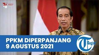 PPKM Level 4 Dilanjutkan hingga 9 Agustus 2021 di Beberapa Kota/Kabupaten