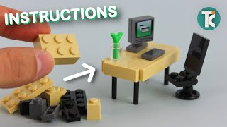 LEGO Office Desk (Tutorial)