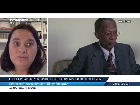 Un document unique sur l'ancien Chef d'État malgache