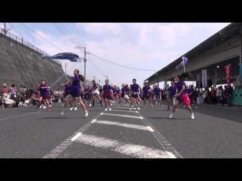 桜山小学校6年生親子よさこいチーム