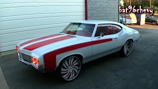 ULTIMATE AUDIO: SUPERCHARGED LS3 '70 Olds Cutlass on 24'/26' Forgiato Wheels - High Quality Mp3