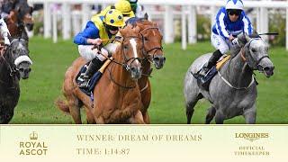 Dream of Dreams vence o Diamond Stakes em Ascot