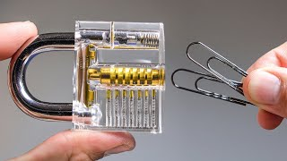 How I learned to Pick a Lock with Paperclips