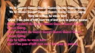 Gucci Gang   Admiral T   Paroles Et Trad Kréyol Français