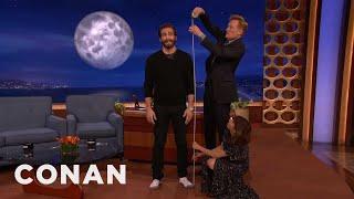 Starlee Kine & Conan Crack The Mystery Of Jake Gyllenhaal's Height  - CONAN on TBS