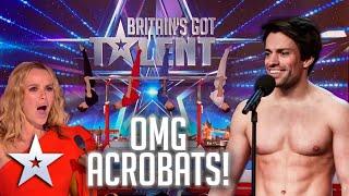 OMG acrobats! | Britain's Got Talent