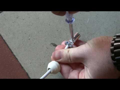 Come giuntare il cavo antenna