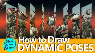 DRAWING ACTION POSES IN COMICS