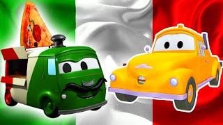 Odtahové auto pro děti - Karlito s pizzou Odtahové auto