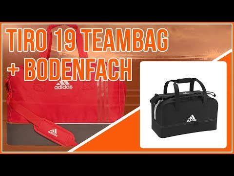 adidas Tiro 19 Teambag mit Bodenfach (die Sporttasche)