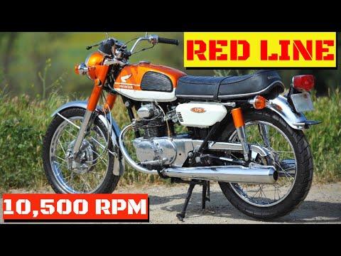 1969 Honda CB175 review  ( Test Ride )