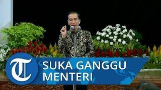 Pidato Jokowi: Minta Maaf ke Menteri-menteri karena Suka Telepon Malam-malam