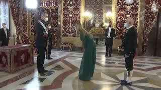 S.M. el Rey recibe las Cartas Credenciales del Embajador del Reino de Noruega