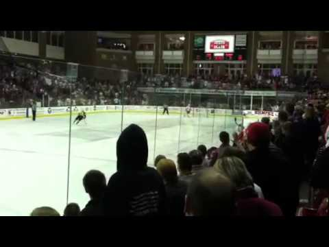 Miami University vs Michigan Wolverines Hockey 11/12/11