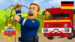 Feuerwehrmann Sam Deutsch Neue Folgen   Feuerwehrmann Sam Cowboy -  40 minuten 🚒 Kinderfilme