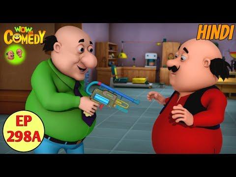 Motu Patlu |Cartoon in Hindi |Christmas Videos |3D Animated Cartoon Series for Kids |Ep 297B