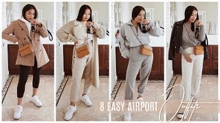 Stylish & Comfy Airport Outfit Ideas Ft. The Perfect Travel Purse !   INMYSEAMS