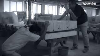 Умывальник Duravit Starck 2 38 настенный видео
