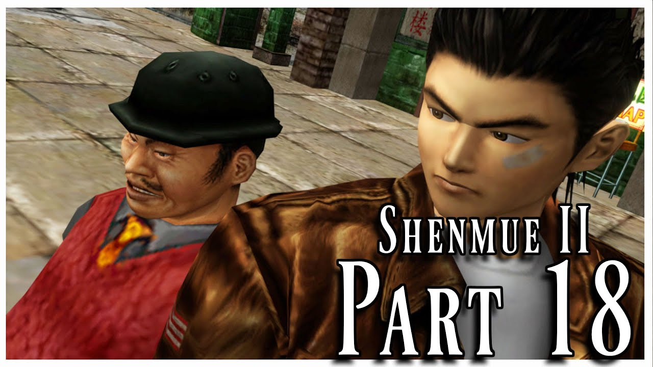 Shenmue 2 HD – Part 18: Ryo der Street Fighter II Turbo