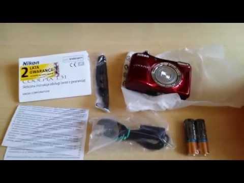 Nikon Coolpix L31 Unboxing