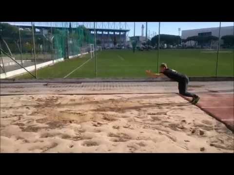Standing broad jump 3.50m