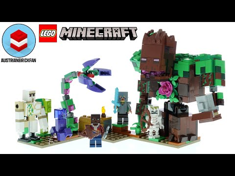 Vidéo LEGO Minecraft 21176 : L'abomination de la jungle