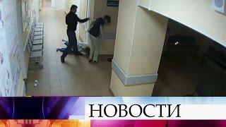 Надебошира, избившего медиков иохранника больницы вВеликом Новгороде, заведено уголовное дело.
