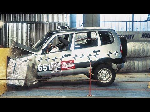 Фото к видео: Краш-тест Chevrolet Niva