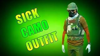 GTA 5 Online SICK CAMO OUTFIT TUTORIAL