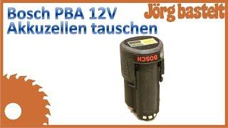 Quicktipp: Bosch PBA 12V Akkuzellen ersetzen