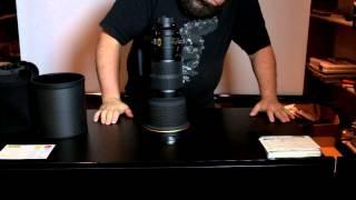 Unboxing the Nikon AF-S 400mm F2.8E FL ED VR