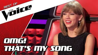 TOP 10 | BEST TAYLOR SWIFT covers in The Voice