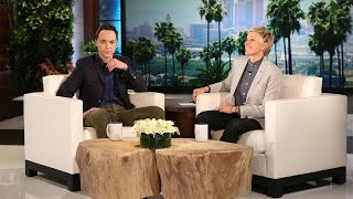 Jim Parsons On His Hollywood Walk Of Fame Star