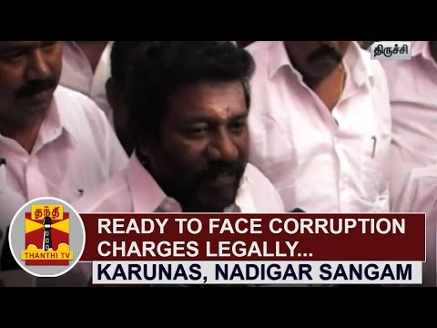 Ready-to-face-Corruption-Charges-Legally--Karunas-Nadigar-Sangam-Vice-President