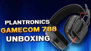 Plantronics GameCom 788 Unboxing & Review [German]