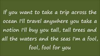 Alan Jackson Tall Tall trees Lyrics