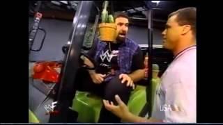WWF RAW 2000 Mick Foley Commish-Mobile Segment Funny