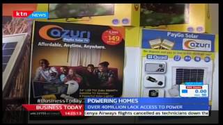 Business Today 6th December 2016 - Millions of Kenyans are expected to benefit from Solar power