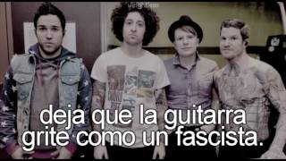 Fall out boy, I don't care | Traducida al español | HD