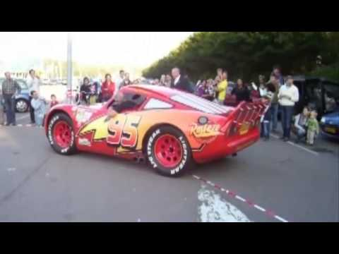 Lightning Mcqueen Real Life - CARS 2 Disney Pixar