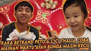 Cici & Kakak - KAKAK SENENG BANGET DAPET MAINAN JADUL!!