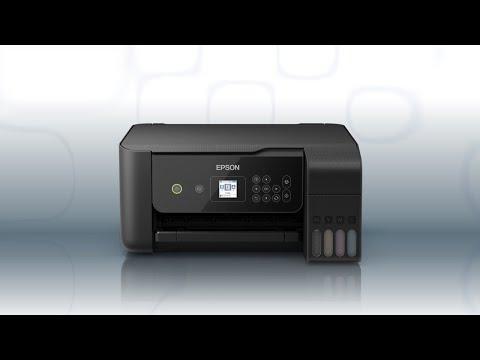 Epson EcoTank ET-2720 | Wireless Setup Using the Control Panel