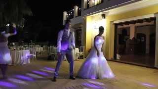 فيديو رقصة افتتاحية مجنونة لعروسين يشعلان بها حفل زفافهما تحقق 5 ملايين مشاهدة خلال أيام!