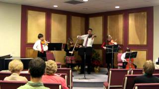 Jolly Old St. Nicholas Christmas Song performed by String Ensemble