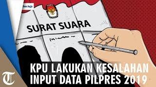 KPU Kembali Salah Input Data, Prabowo-Sandi Kalah dan Jokowi-Ma'ruf Ketambahan 100 Suara di Bogor