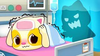 Baby Kitten Hates Hospitals   Sick Song   Doctor Cartoon   Kids Songs   Baby Cartoon   BabyBus