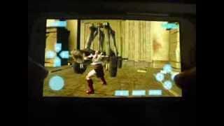 God of War on Galaxy S3 (i9300) via PPSSPP Emulator