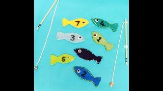 Saturday Family Crafts – Felt Fishing